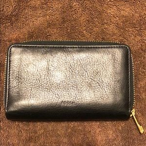 Fossil phone holder & wallet